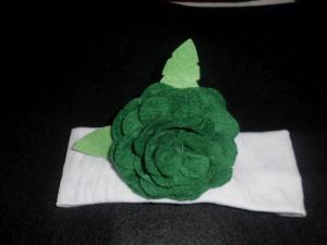 flores de gitana de fieltro