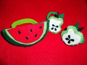 Originales coleteros de frutas