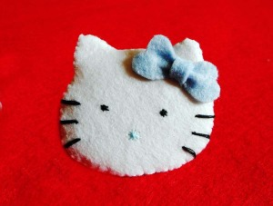 broche de hello kitty