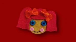 la muñeca lalaloopsy de fieltro