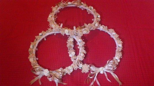 coronas de boda para damas de honor