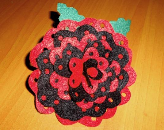 abalorios de flamenca niña 2013